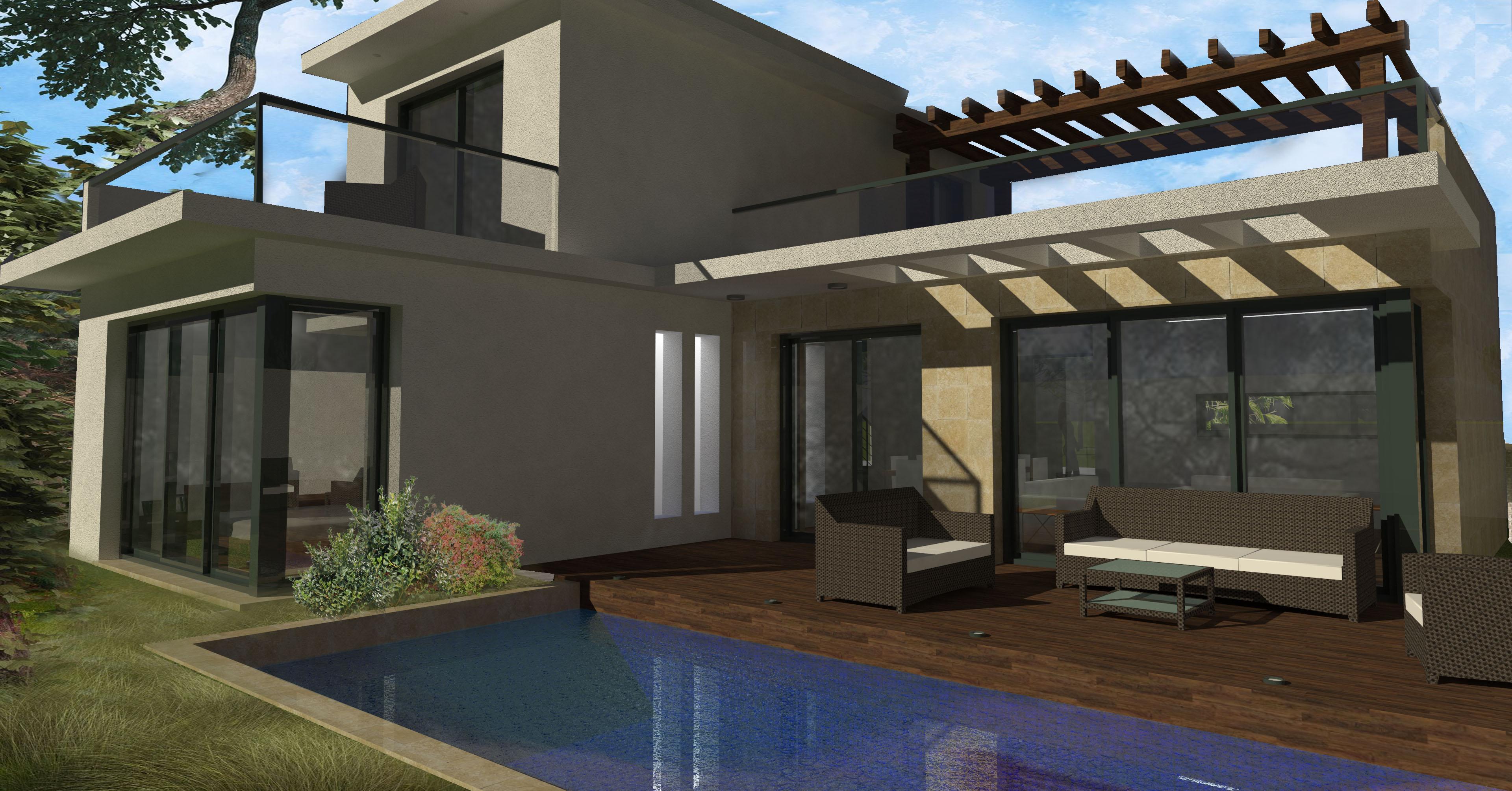 proyecto vivienda 120 m2