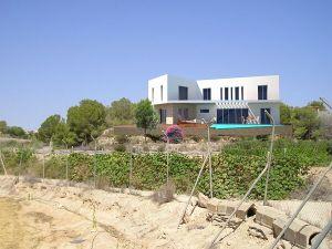 proyecto de vivienda situada en ladera