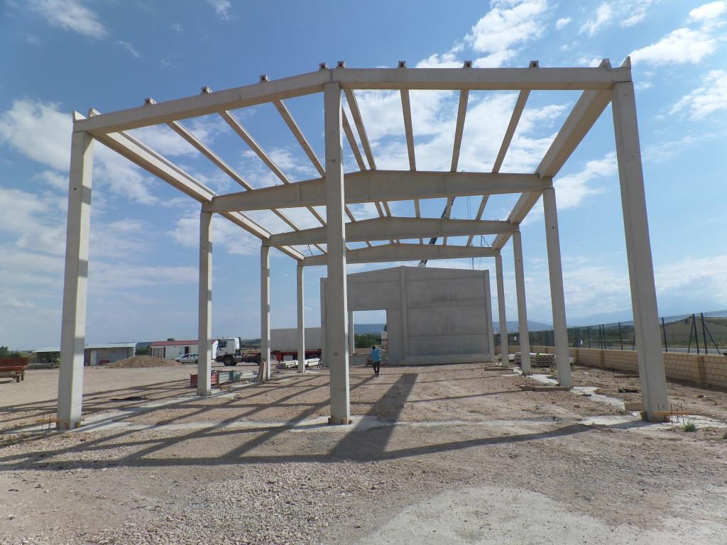 Estructura hormigón prefabricada