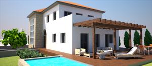 proyecto masia piscina