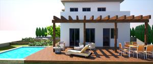 proyecto de vivienda en torrente vista terraza