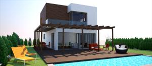 proyecto de vivienda piscina