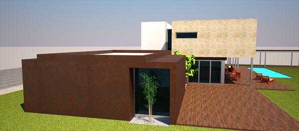 proyecto vivienda madrid modulo despacho