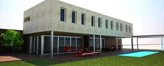 Proyecto de vivienda unifamiliar y estudio profesional