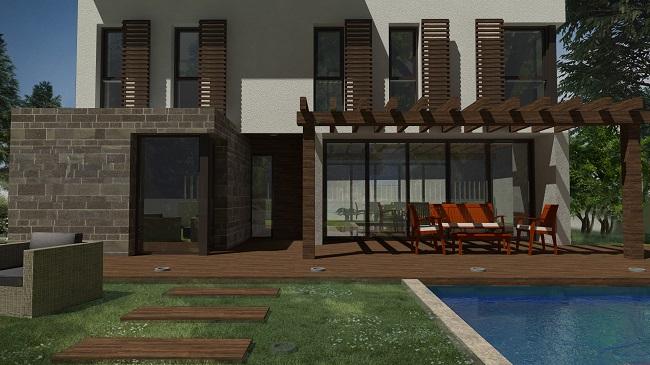 diseño vivienda mediterranea