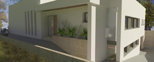 Proyecto de Vivienda Unifamiliar en Alicante