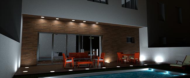 Arquitecto proyecto vivienda entre medianeras