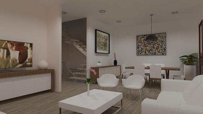 proyecto de interior vivienda