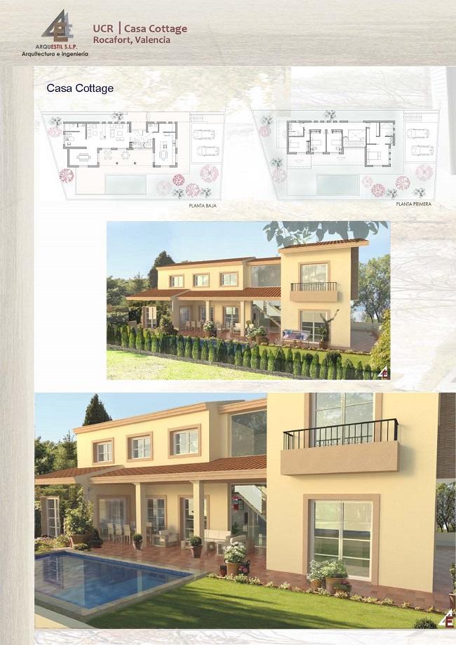 panel proyecto de vivienda