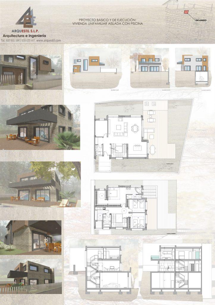 proyecto vivienda panel