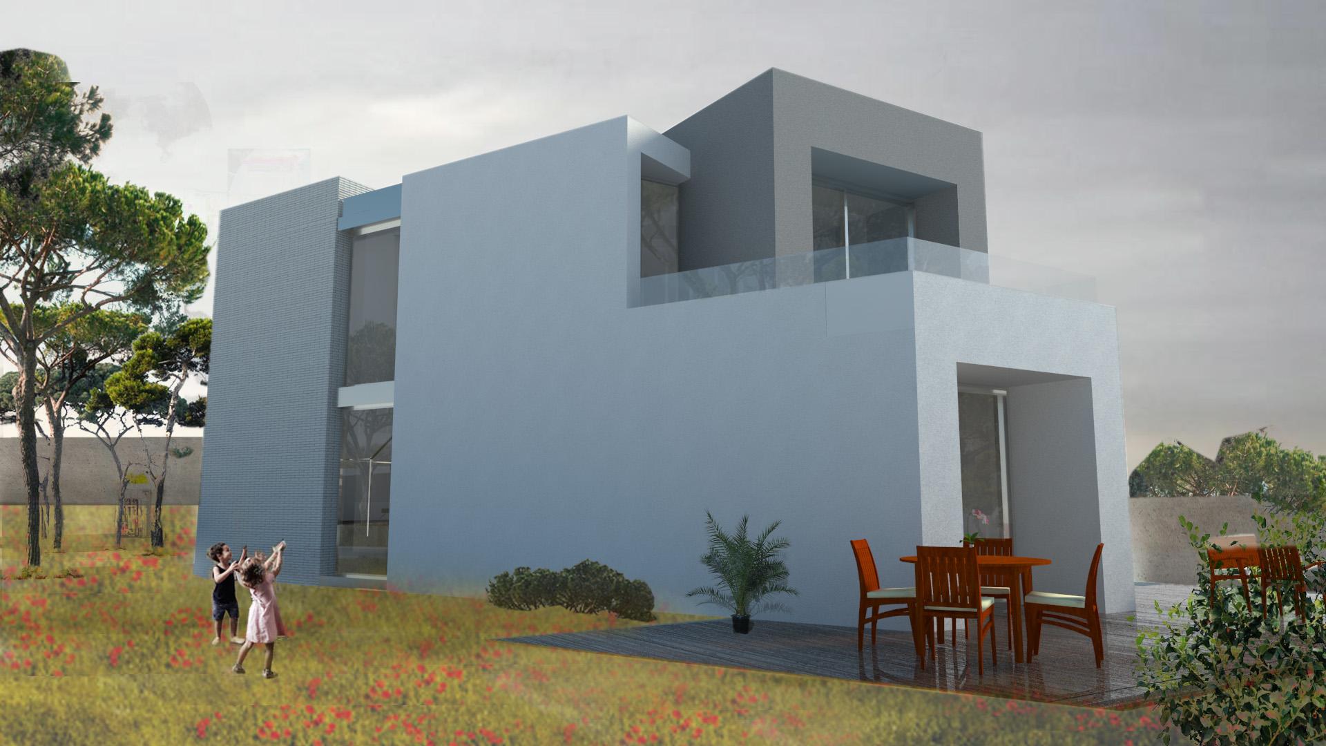 proyecto de vivienda 3 D