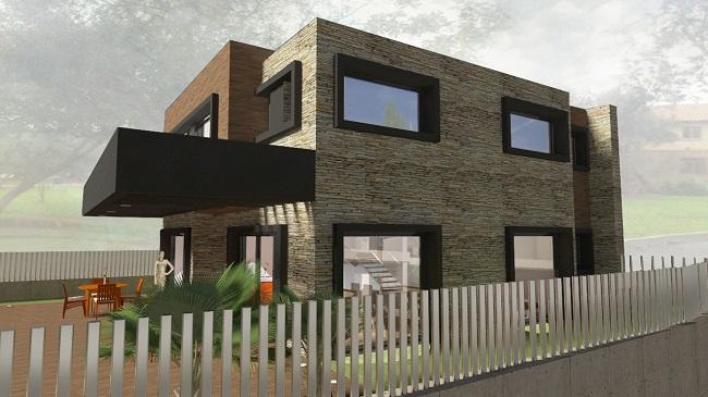 Proyecto de vivienda unifamiliar aislada en Ribarroja (Valencia)
