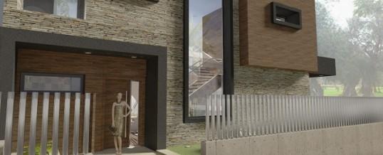Proyecto de vivienda unifamiliar en Valencia