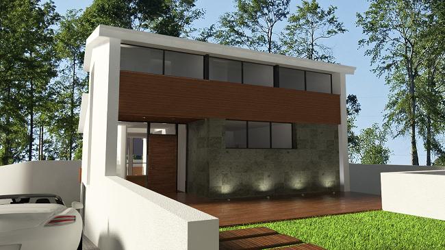 Imagen fachada principal vivienda