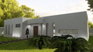 proyecto vivienda unifamiliar de 120 m2