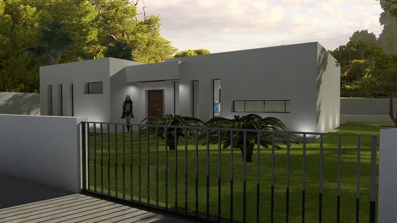 proyecto de vivienda unifamiliar en Turis