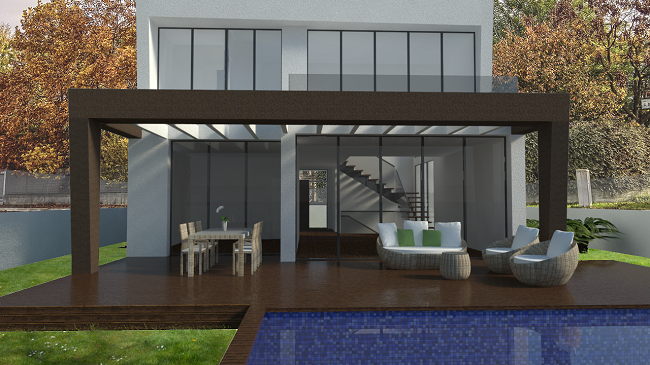 proyecto vivienda 175 m2