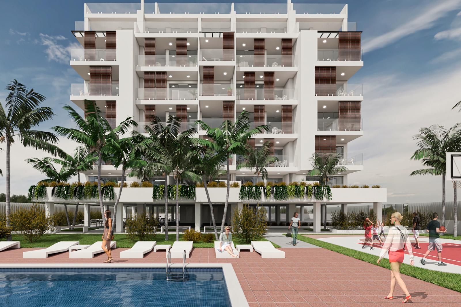 proyecto de edificio de viviendas