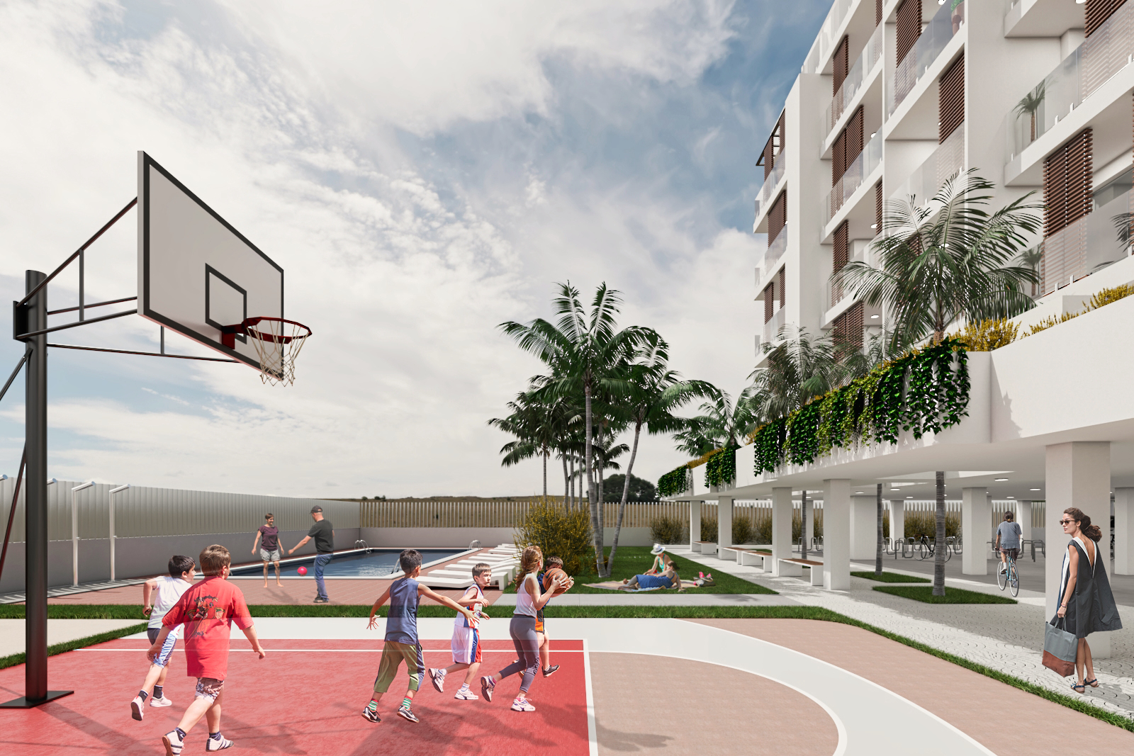 proyecto zona deportiva