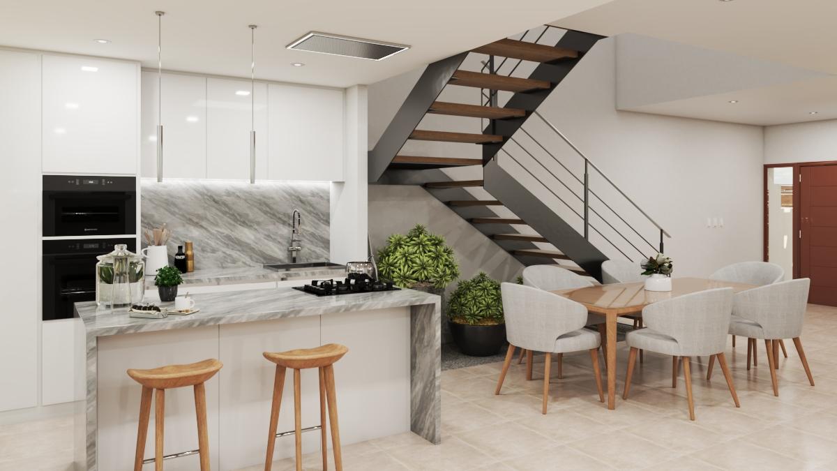 proyecto de viviendas adosadas