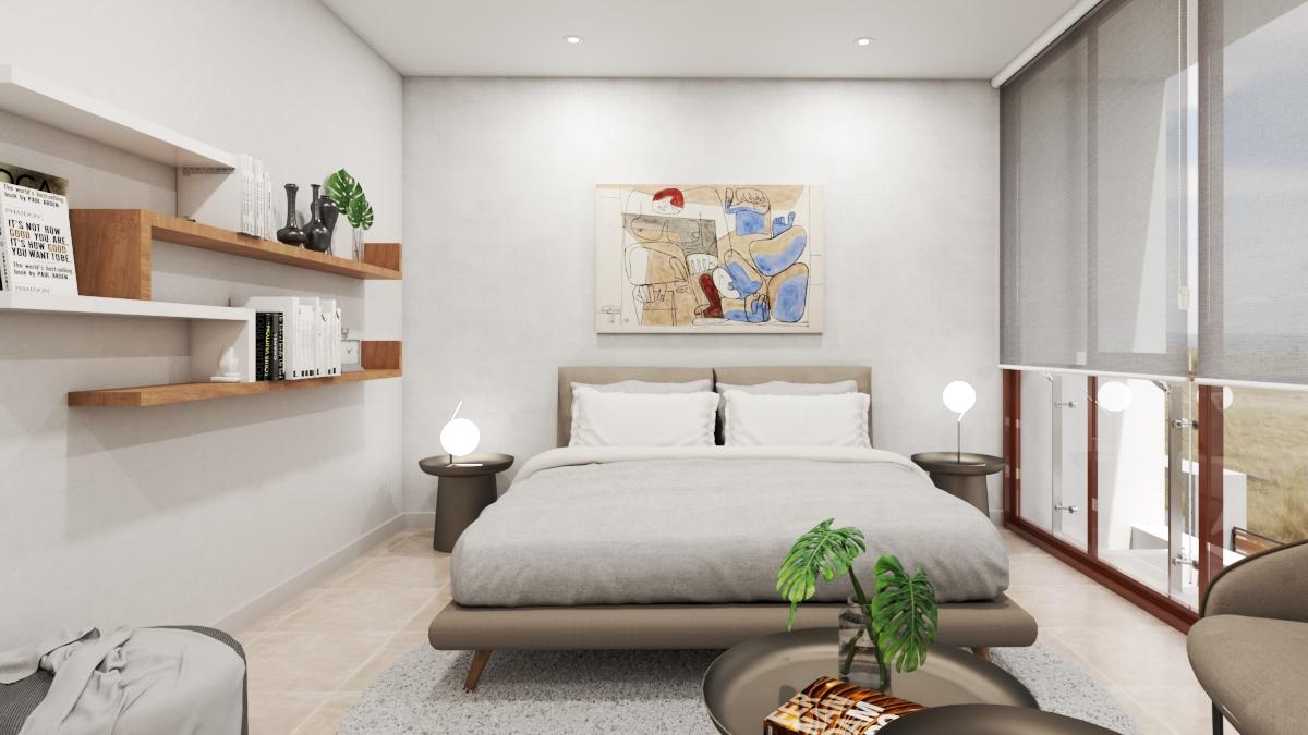 interior vivienda. Dormitorio principal