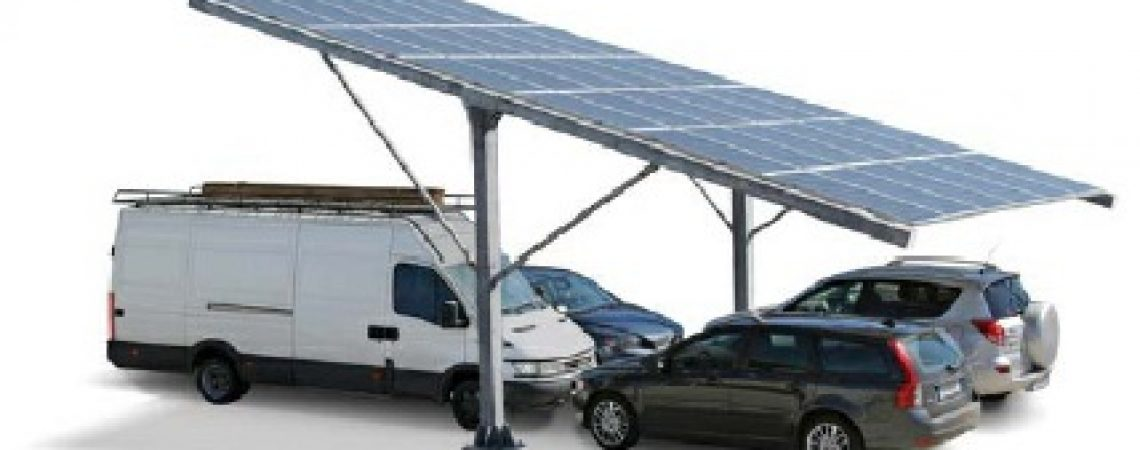 cubierta solar aparcamiento