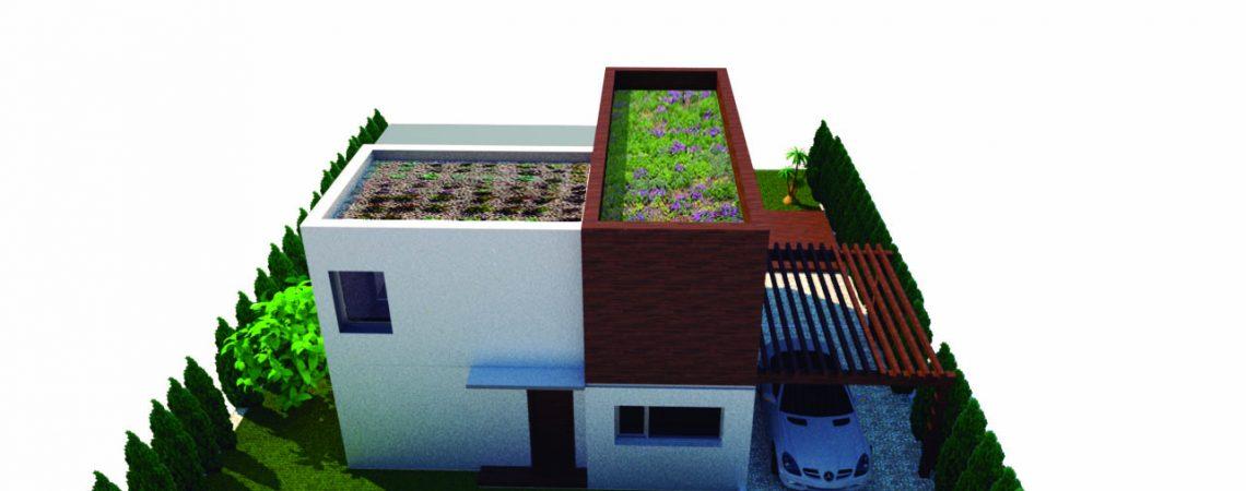 vivienda unifamiliar sostenible